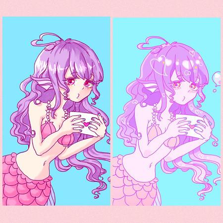 人魚ちゃん塗り比較.png